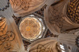 New Cathedral Dome, Salamanca, Spain