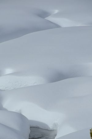 Snowy abstract 4