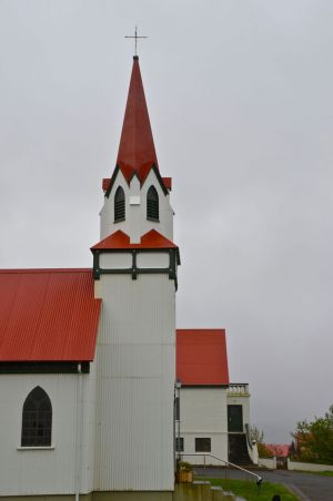 Church in Hvanneyri, Iceland