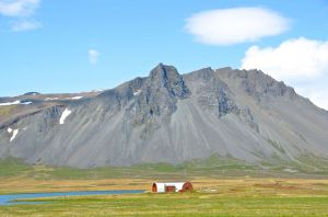 Quonset Hut Home, Western Iceland