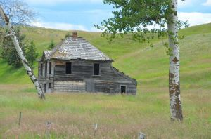 Ghost Town, Upper Okanogan County, Washington